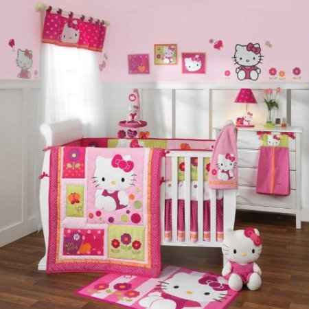 hello kitty garden crib bedding and accessories baby bedding and