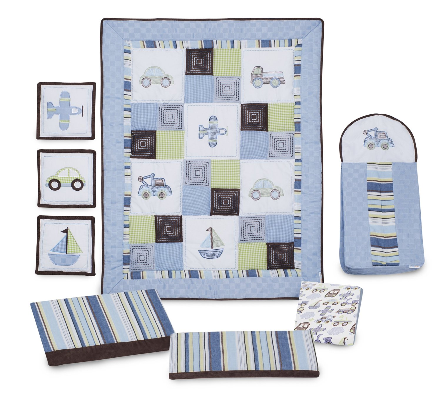 Kidsline Mosaic Transport Bedding And Accessories