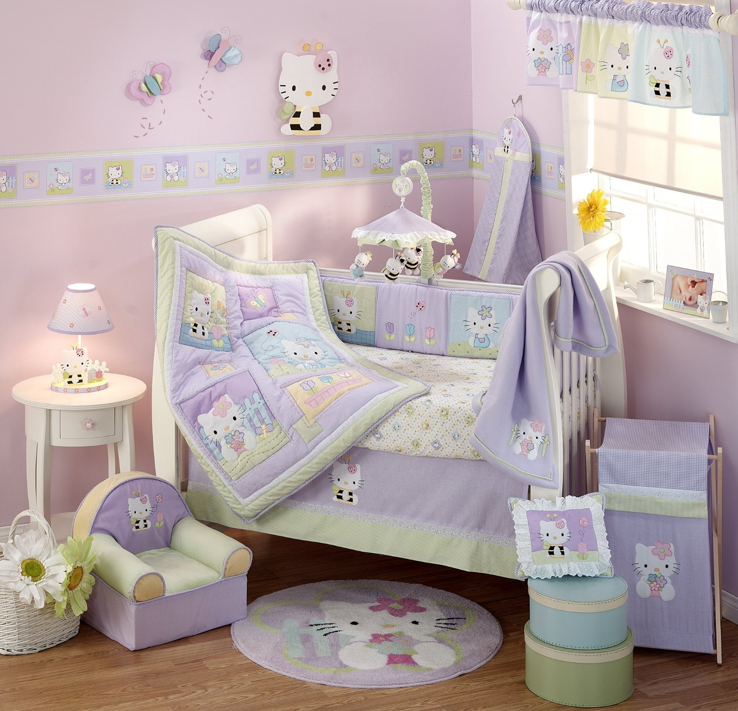 Lambs And Ivy Hello Kitty Friends Baby Bedding