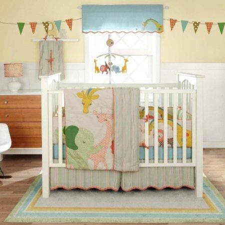 Bananafish Migi Circus Crib Bedding