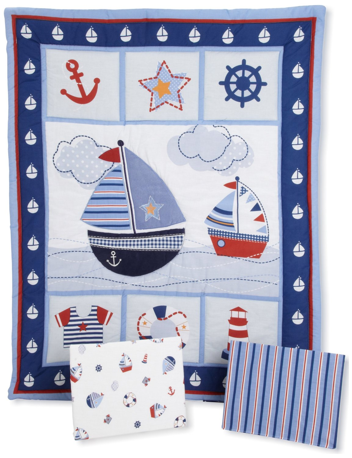 Bedtime Originals Sail Away Nursery Collection Baby Bedding And