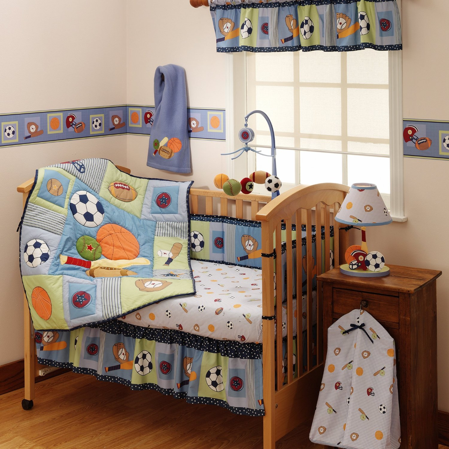 Bedtime Originals Super Sports Baby Bedding And Decor Baby Bedding