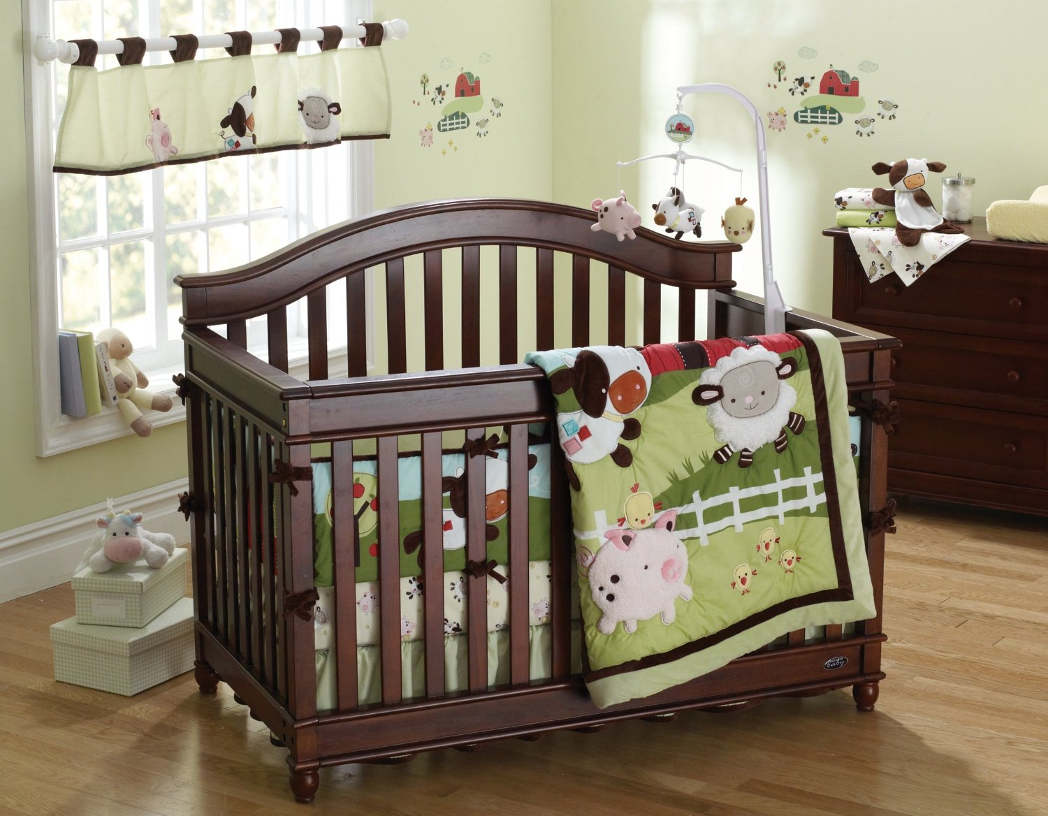 Fisher Price Farm Friends Crib Bedding