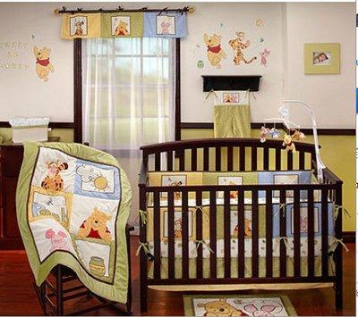 Winnie The Pooh Baby Bedding Sunshine Patch Baby Bedding