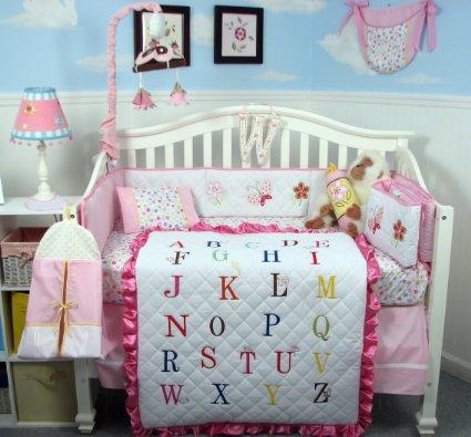 Soho Alphabet Baby Bedding