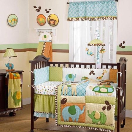 Cocalo In the Jungle Baby Bedding
