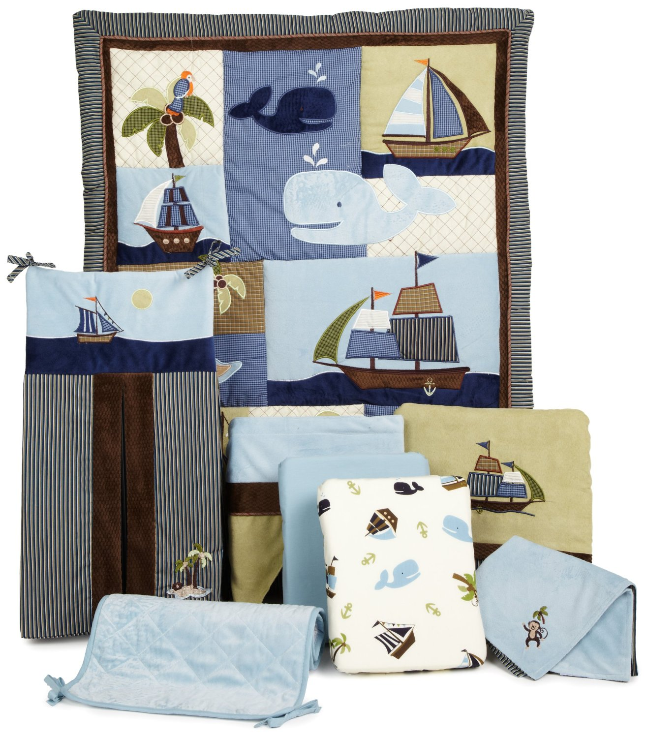 Nojo Ahoy Mate Baby Bedding