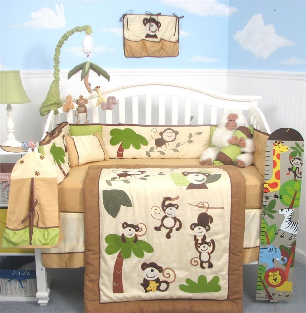 Soho Curious Monkey Baby Bedding And More