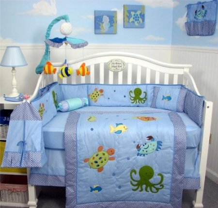 Soho Sea Life Baby Bedding And Nursery Decor Baby