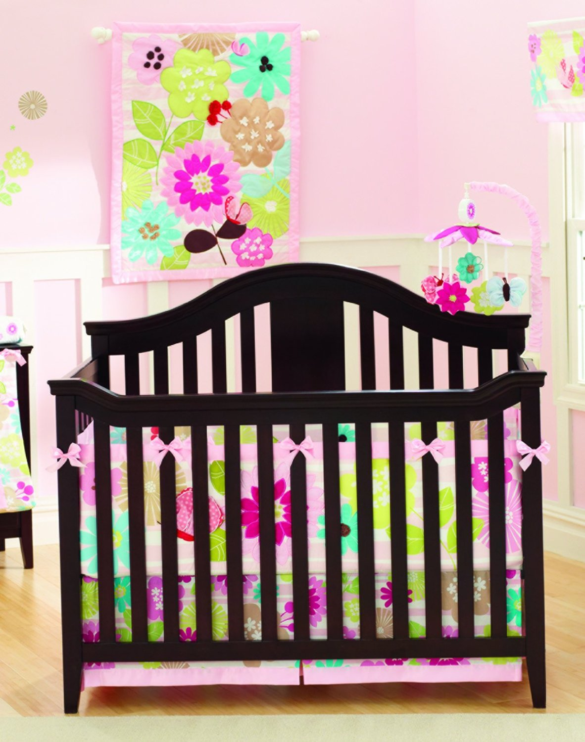 Summer Infant Petals Crib Bedding And Accessories