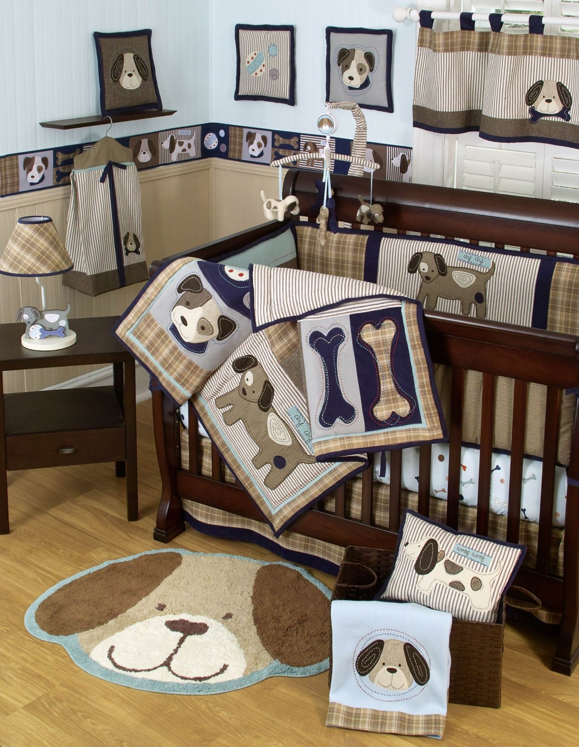 Puppy Baby Boy Bedding