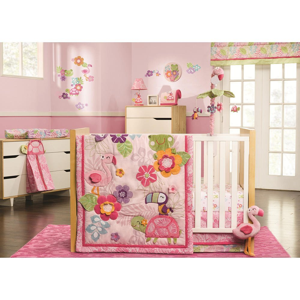 Carters Tropical Garden Baby Bedding Collection