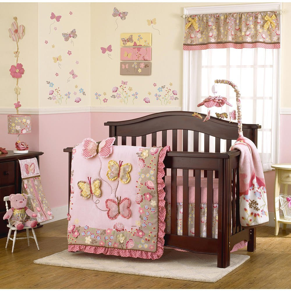 Cocalo Pink Baby Bedding
