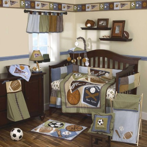 Cocalo Sports Fan Baby Bedding And Decor Baby Bedding