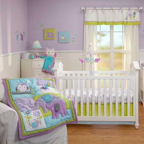 Nojo Owl Crib Bedding
