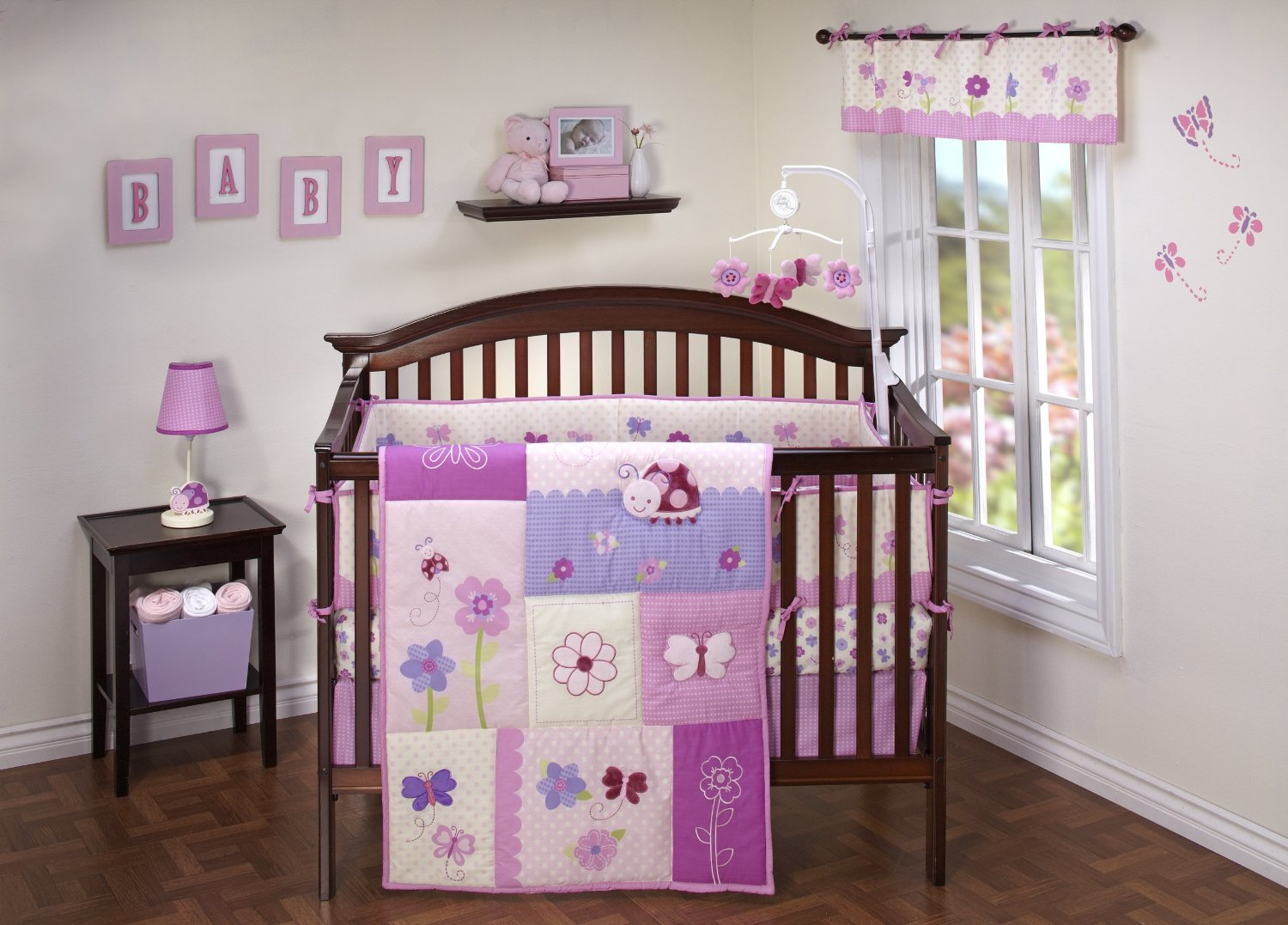 Nojo Little Bedding Little Flowers Crib Bedding Baby Bedding And