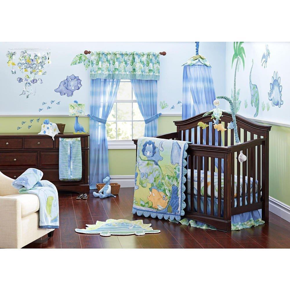 Truly Scrumptious Dinosaur Tracks Crib Bedding Set Baby