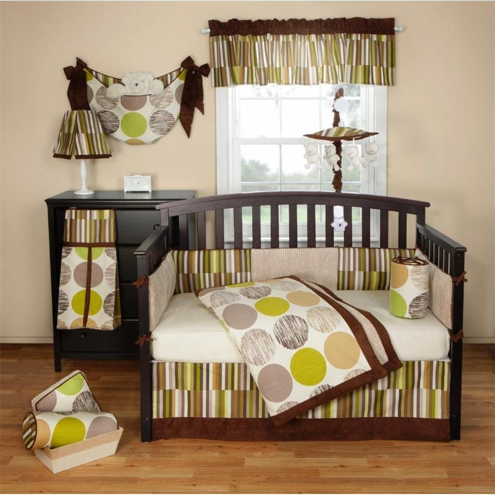 Bananafish jazz crib bedding collection baby bedding and for Fish crib bedding