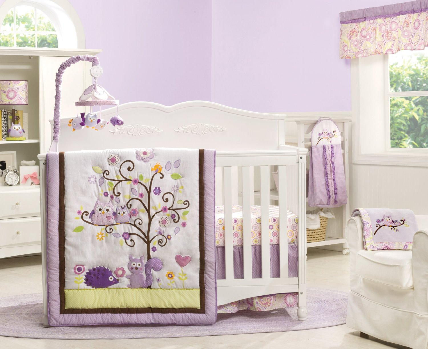 Dena Owl Blossom Baby Bedding Collection Baby Bedding