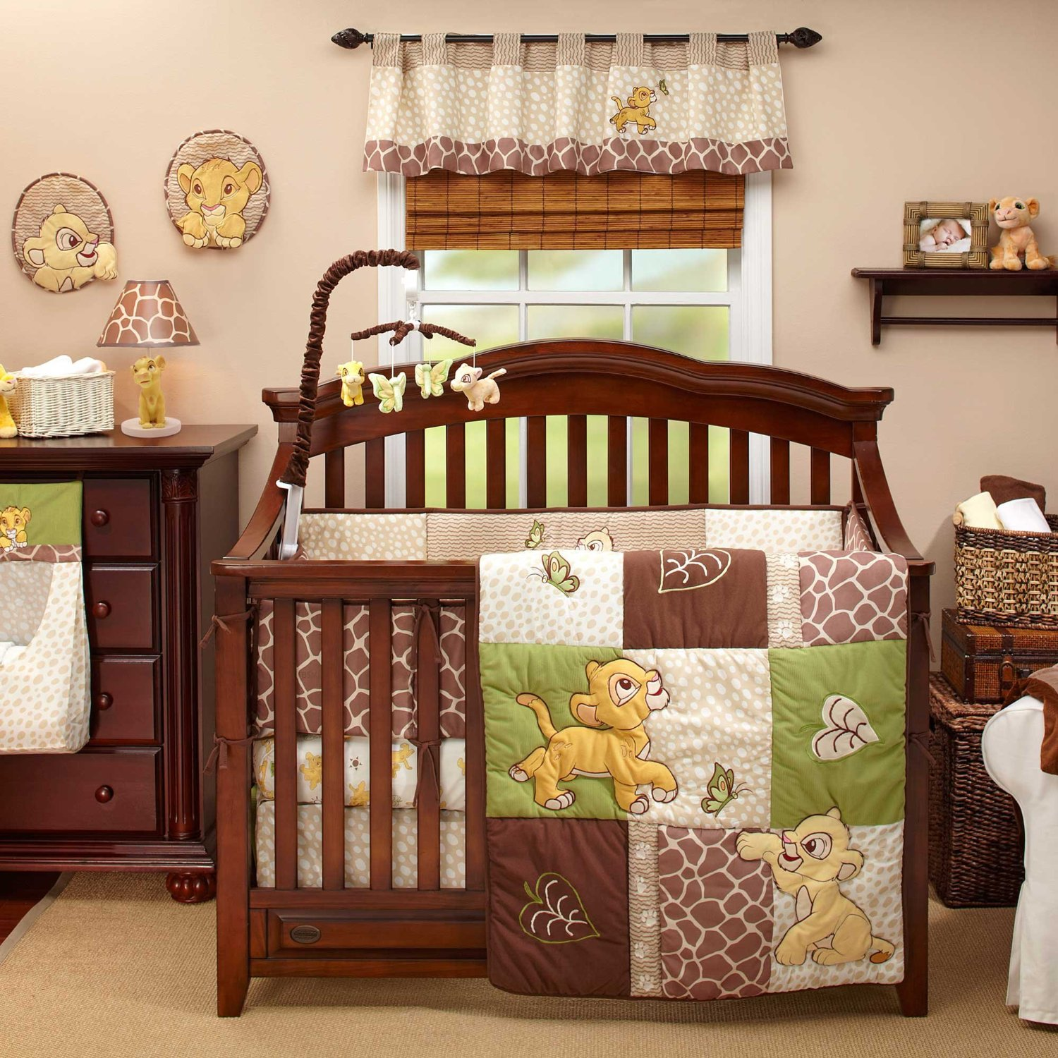 Lion King Go Wild Baby Bedding And Decor Baby Bedding