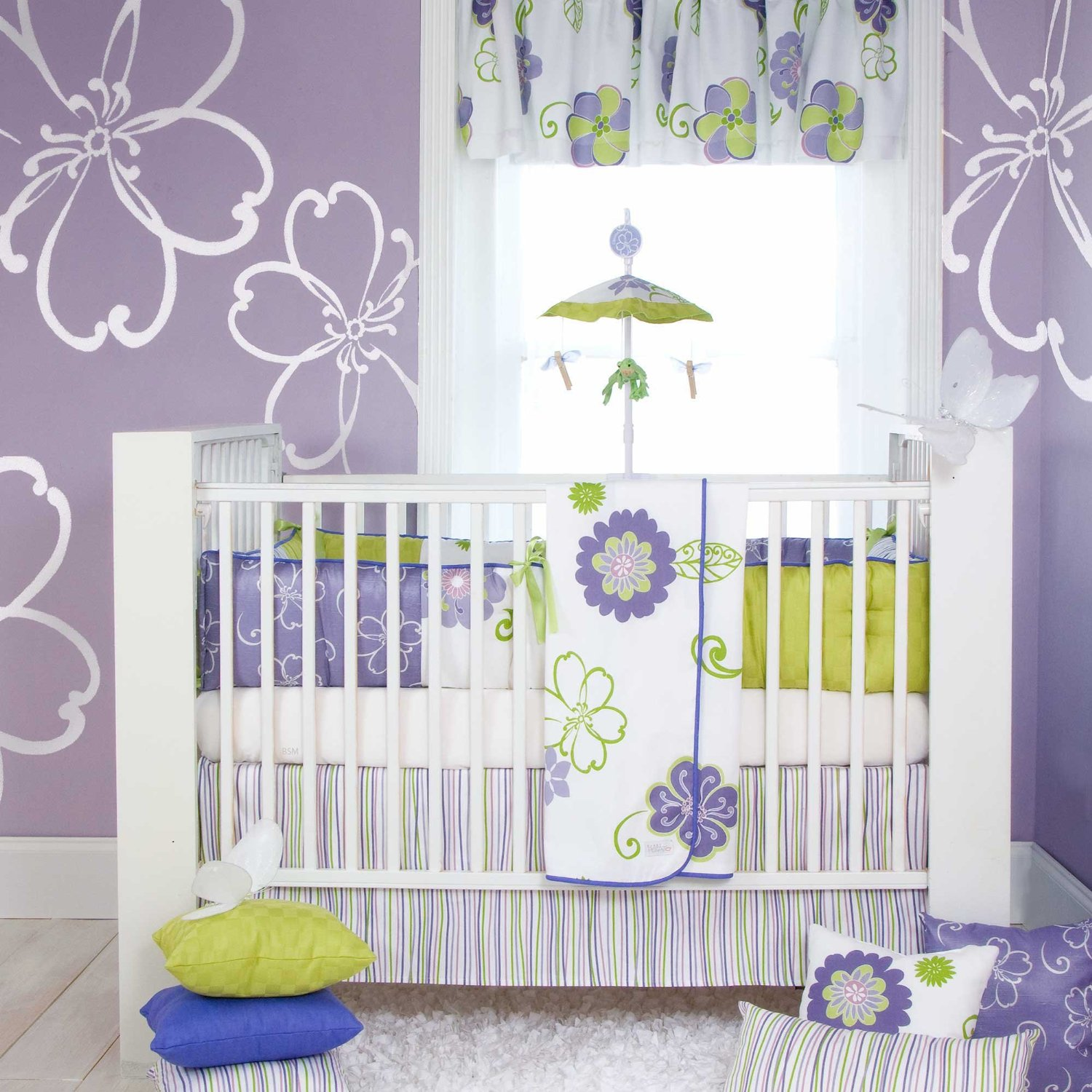 Lulu Baby Bedding Collection By Sweet Potato Baby