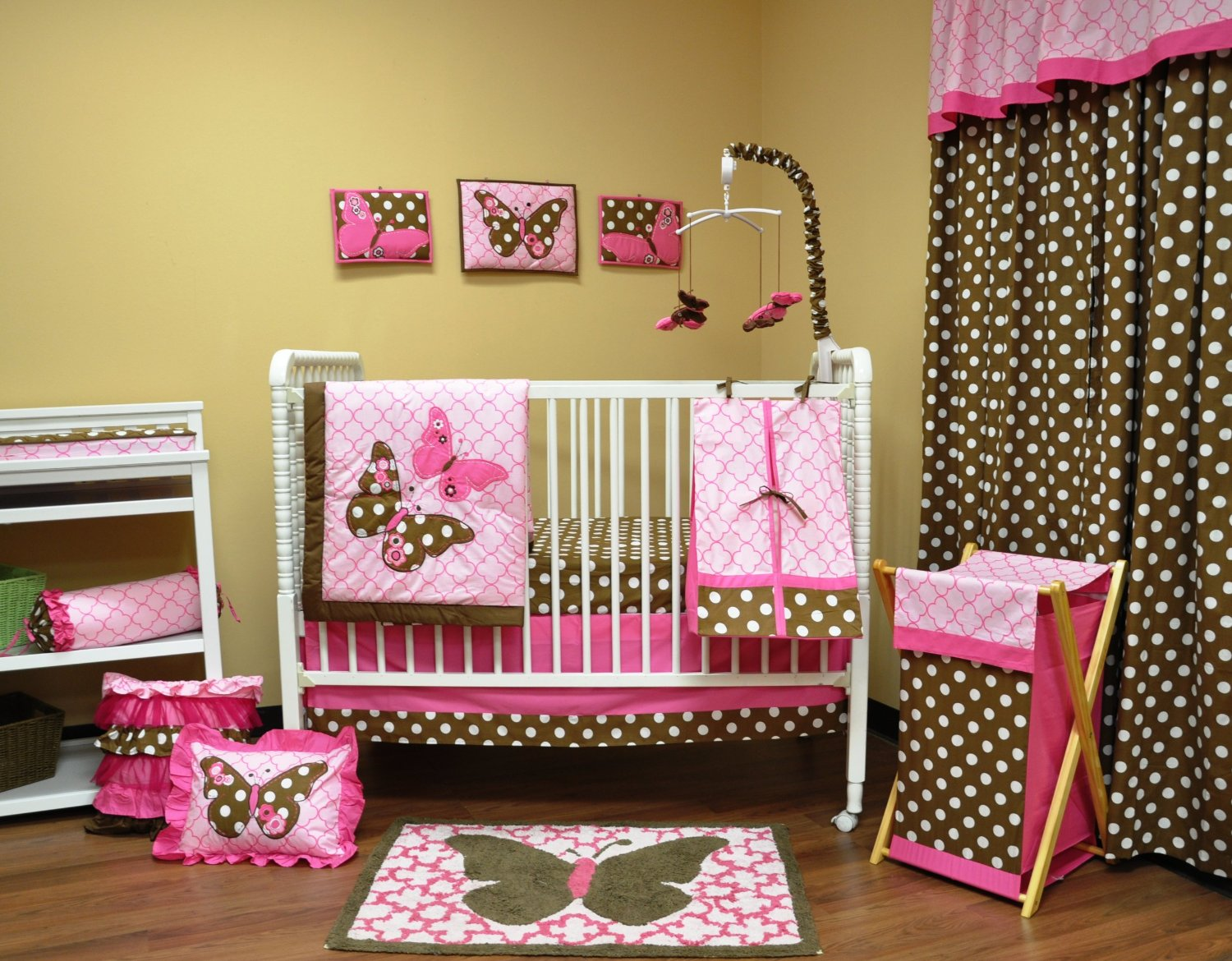 Bacati Erflies Crib Bedding And Decor