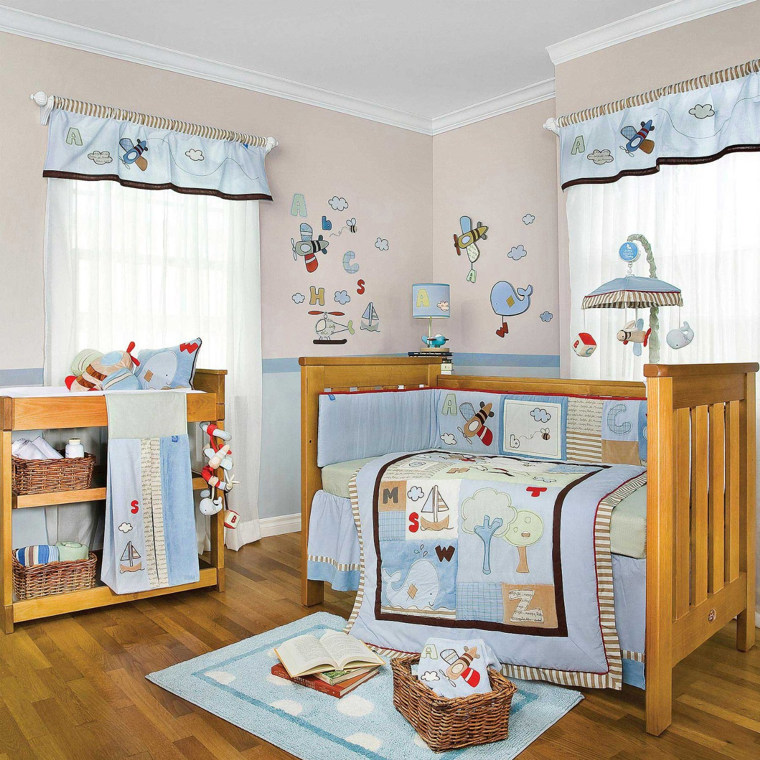 Casey S Abc Baby Bedding Collection