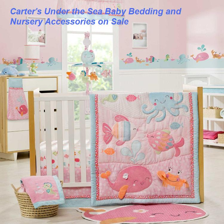 Carters Under the Sea Baby Bedding