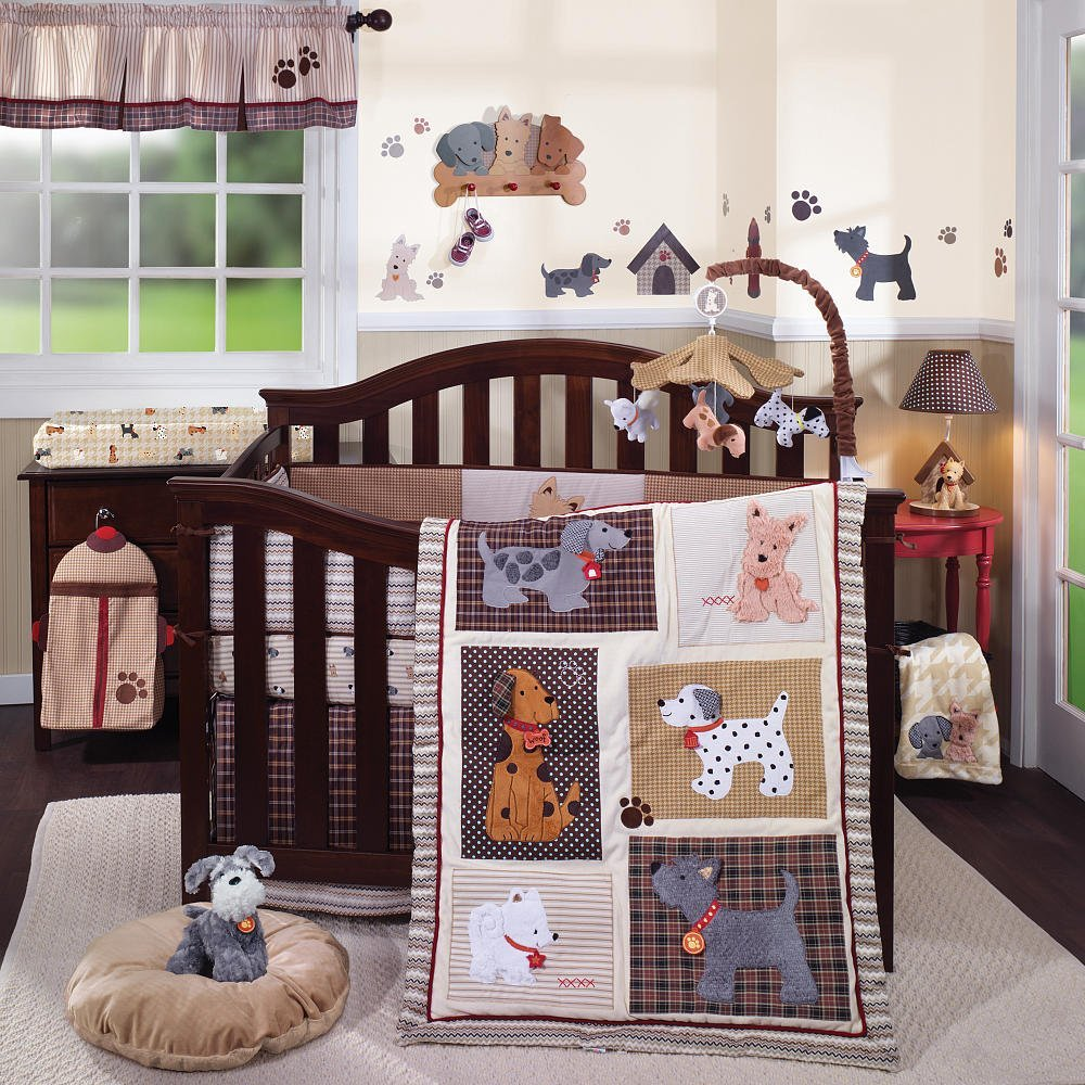 Dog Themed Nursery Bedding