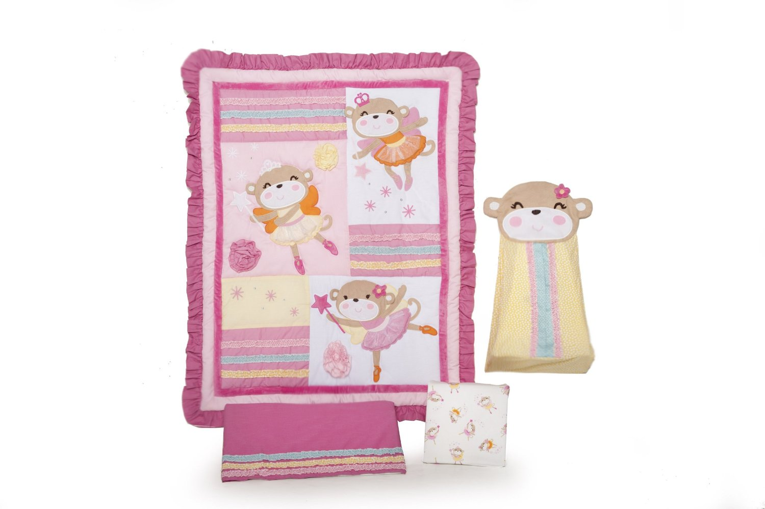Carters Fairy Monkey Baby Bedding