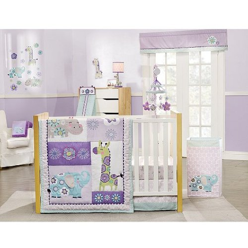 Carters Zoo Garden Crib Bedding