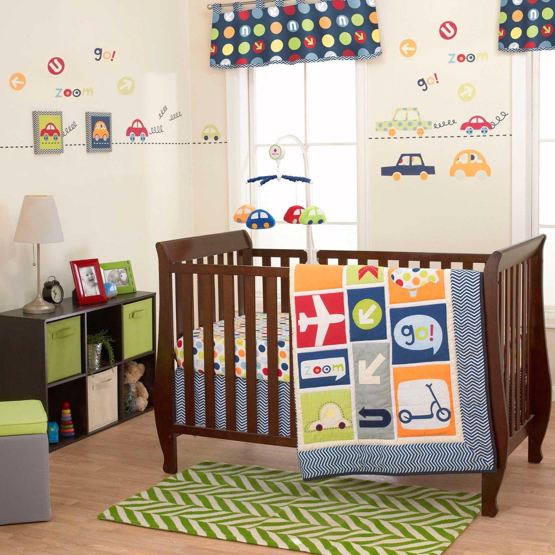 Belle boys world crib bedding collection baby bedding for World crib bedding