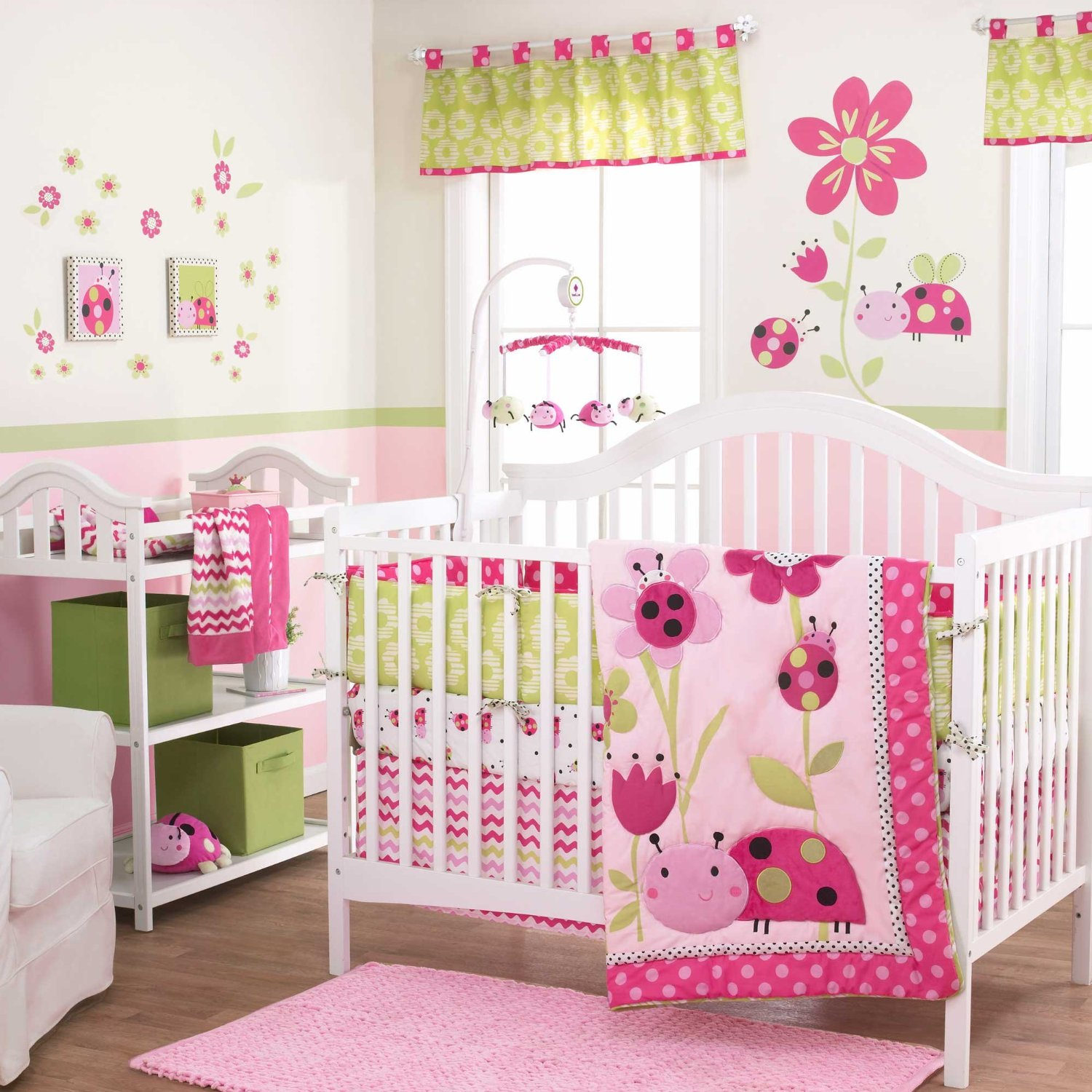 Belle Lil Ladybug Baby Bedding Collection Baby Bedding
