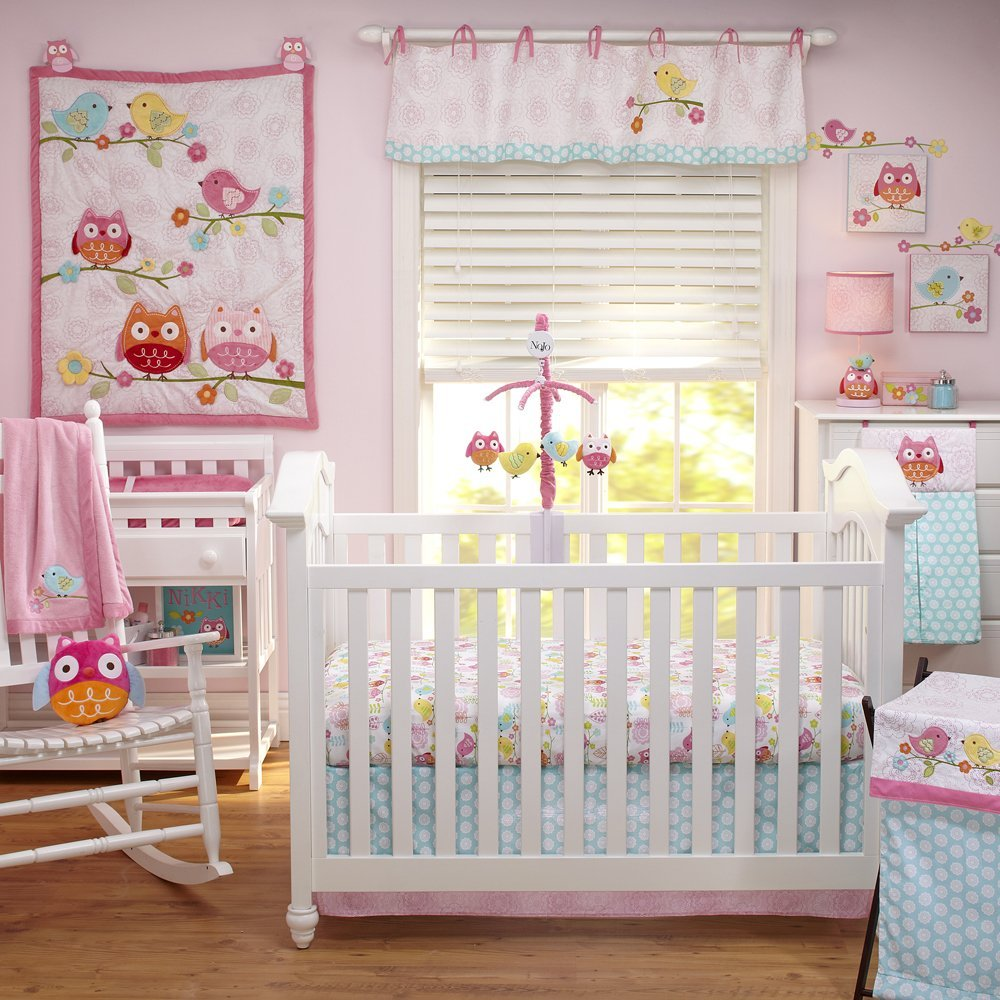 Nojo Love Birds Baby Bedding Collection Baby Bedding And