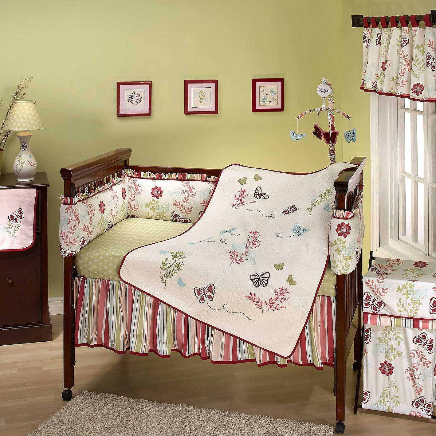 Nojo Alexis Garden Baby Bedding Collection