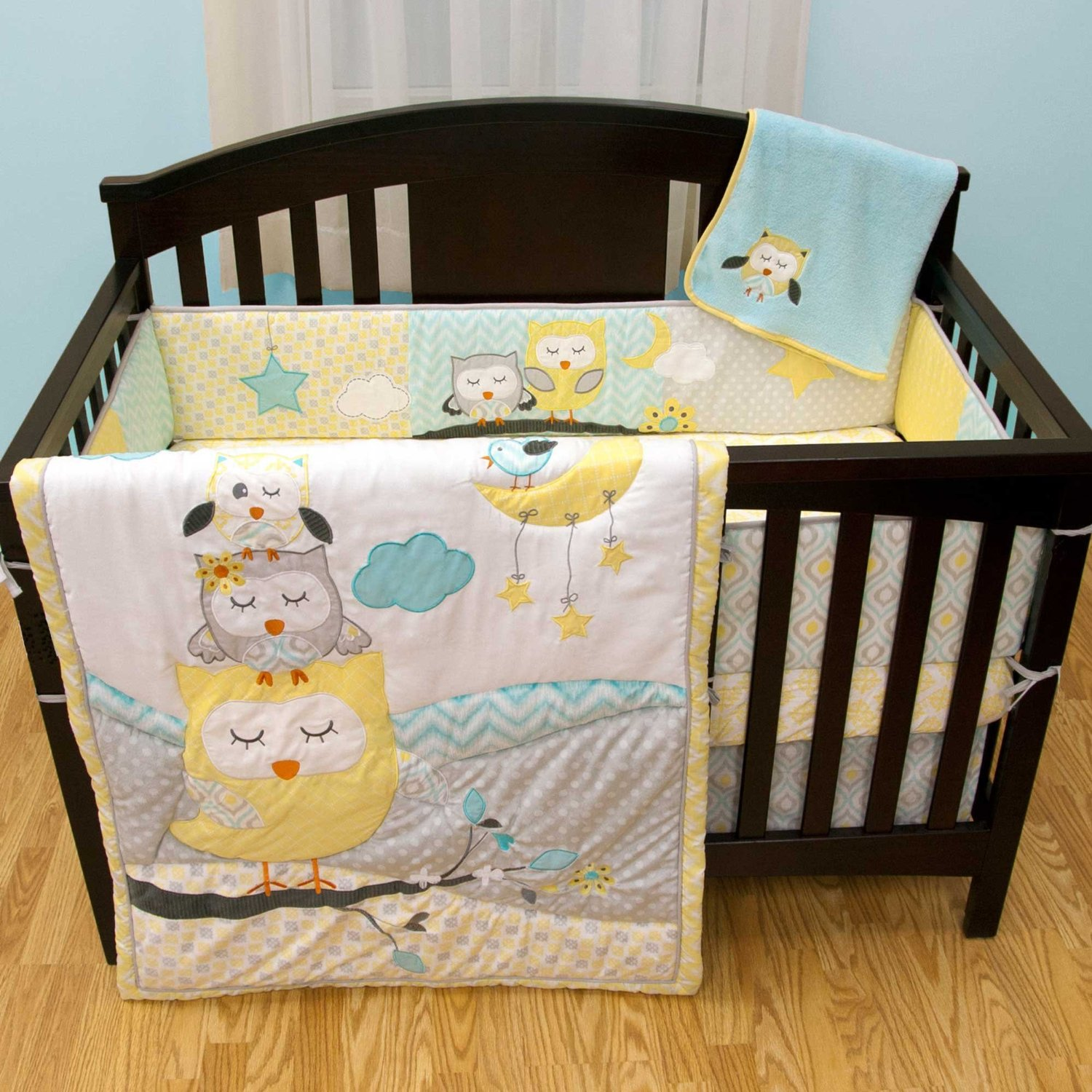 Naptime Owls Crib Bedding Archives Baby Bedding And Accessories