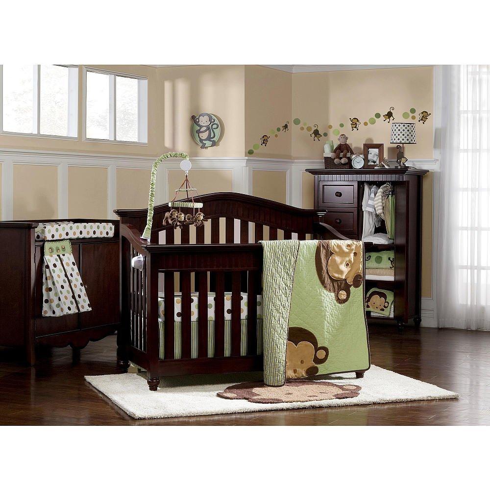 Kidsline Pop Monkey Crib Bedding And Decor Baby Bedding