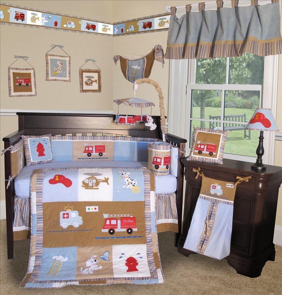 13 Piece Crib Bedding Set Boy