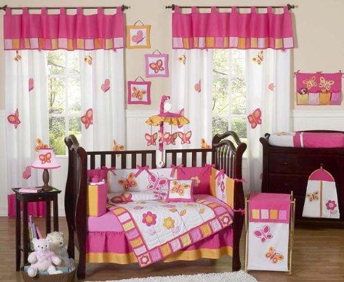 Sweet Jojo Crib Bedding Orange