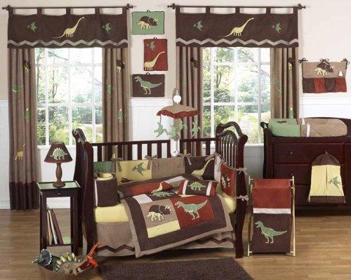 Sweet Jojo Designs Dinosaur Land Crib Bedding And Decor