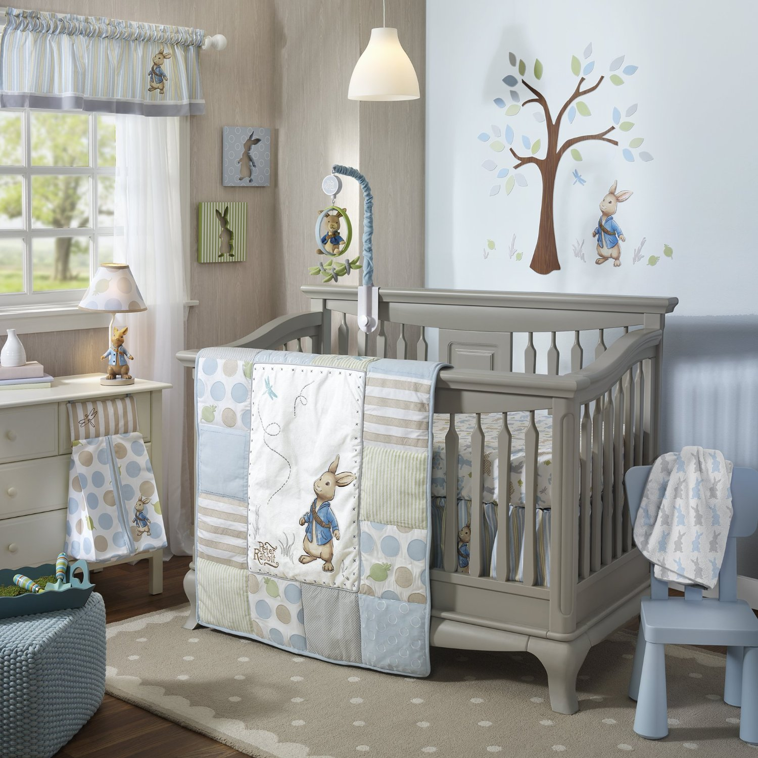 Lambs And Ivy Peter Rabbit Baby Bedding Decor