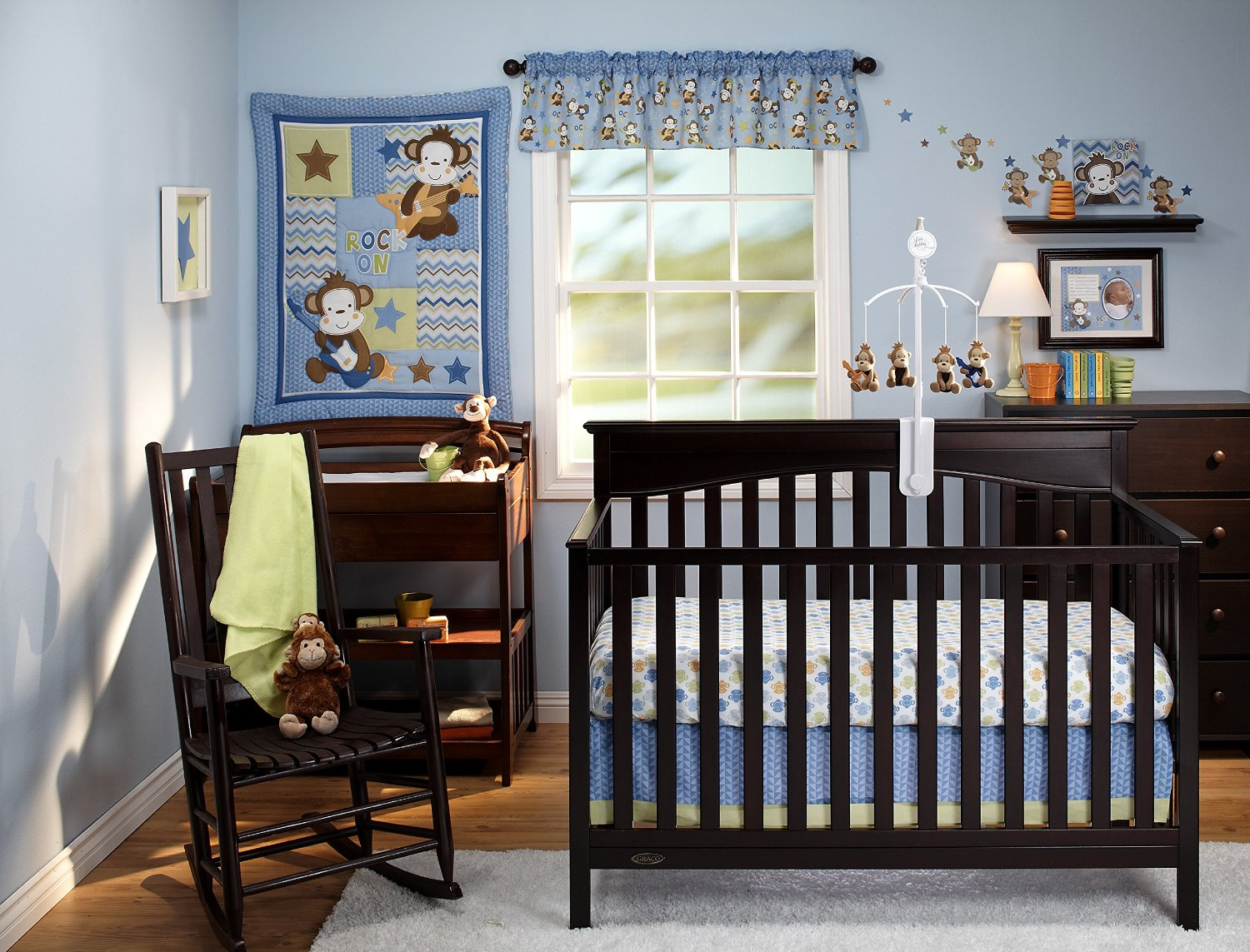 Little Bedding Born To Rock Crib Collection