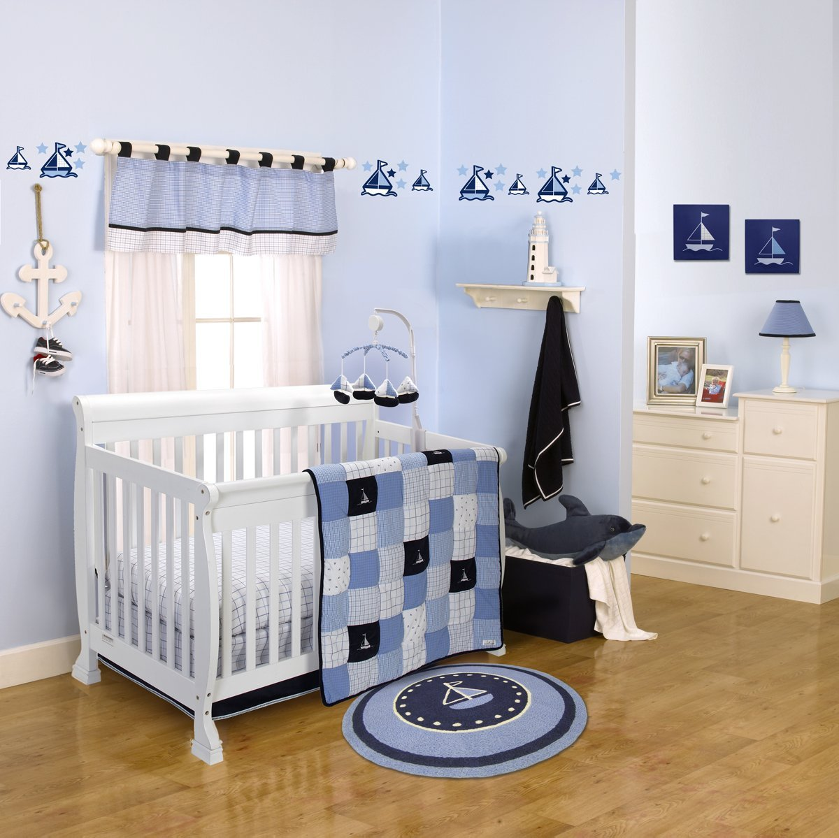 Image of: Nautica William Crib Bedding Collection Baby Bedding And Accessories