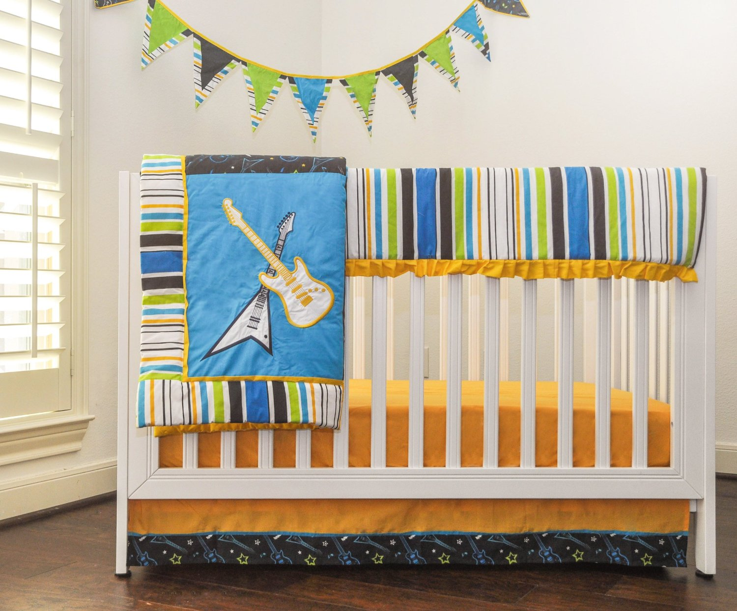 Pam Grace Creations Rock Star Baby Bedding And Decor Baby Bedding