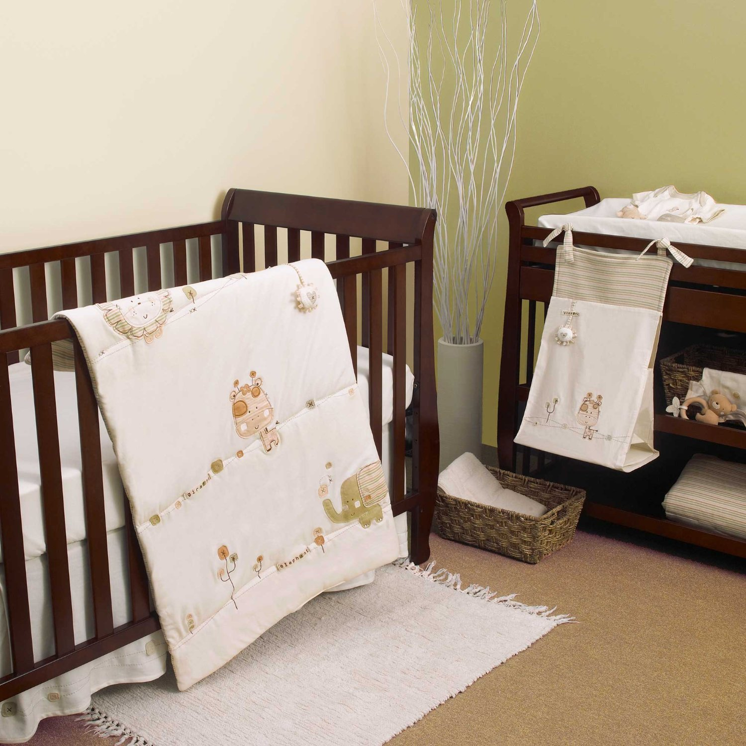 natures purest sleepy safari crib bedding and accessories baby bedding and accessories
