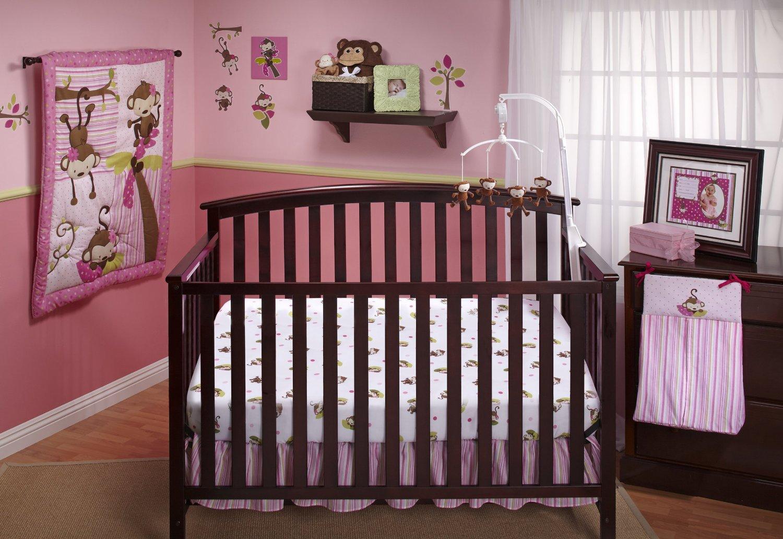 Nojo 3 Little Monkeys Baby Bedding For S